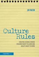 Culture Rules PDF