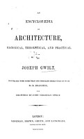 An Encyclop  dia of Architecture PDF