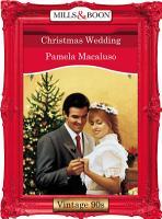 Christmas Wedding  Mills   Boon Vintage Desire  PDF