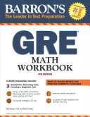 Barron s GRE Math Workbook Book