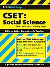CliffsTestPrep CSET: Social Science