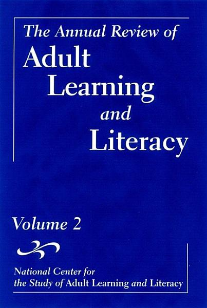 The Annual Review of Adult Learning and Literacy PDF