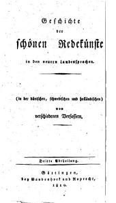 Geschichte der Litteratur von ihrem Anfang bis auf die neuesten Zeiten: Volumes 3-4