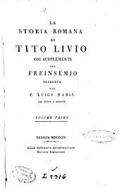La storia romana di Tito Livio: Volume 1