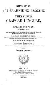 Thesaurus graecae linguae, ab Henrico Stephano constructus: Volume 6