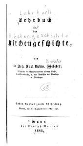 Lehrbuch der Kirchengeschichte: Band 4