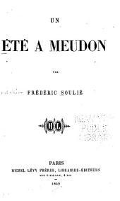 Un été à Meudon