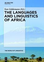 The Languages and Linguistics of Africa PDF