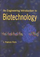 An Engineering Introduction to Biotechnology PDF