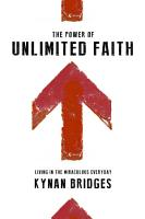 The Power of Unlimited Faith PDF