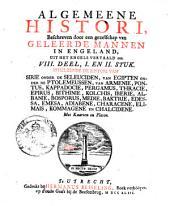 Algemeene histori ... behelzende de histori van Sirie onder de Seleuciden ... Kommagene en Chalcidene: Volume 2