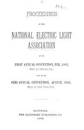 Proceedings of the National Electric Light Association ...: Volumes 1-2