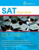SAT Prep 2018 PDF