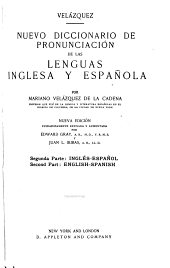 A New Pronouncing Dictionary of the Spanish and English Languages: Part 2