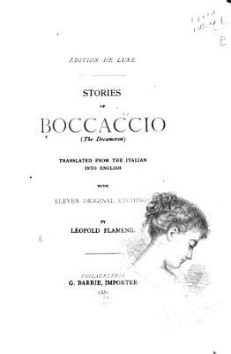 Stories of Boccaccio  The Decameron