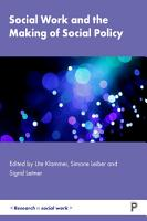 Social Work and the Making of Social Policy PDF