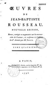 Oeuvres de Jean-Baptiste Rousseau