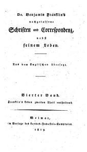 Dr. Benjamin Franklin's nachgelassene Schriften und Correspondenz: nebst seinem Leben. 4. - Th. 2 (1819)