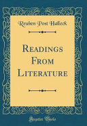 Readings from Literature (Classic Reprint)