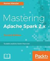 Mastering Apache Spark 2 x PDF