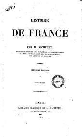 """Histoire de France par M. Michelet: """"Histoire de France"""" 1, Volume1"""