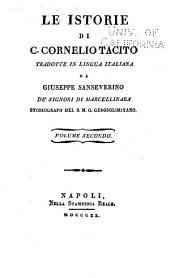 Le istorie di C.Cornelio Tacito: Volume 2