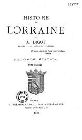 Histoire de Lorraine: Volume1