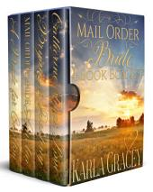 Mail Order Bride 4 Book Box Set: Sweet Clean Historical Western Mail Order Bride Mystery Romance