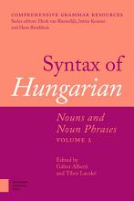 Syntax of Hungarian PDF