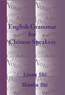 English Grammar for Chinese Speakers PDF