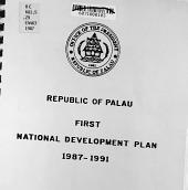 Republic of Palau First National Development Plan  1987 1991 PDF