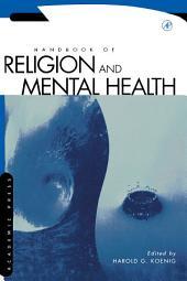 Handbook of Religion and Mental Health