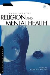 Handbook of Religion and Mental Health PDF