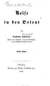 Reise in den Orient: Bände 1-2