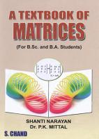 A Textbook Of Matrices PDF