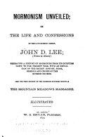 Mormonism Unveiled