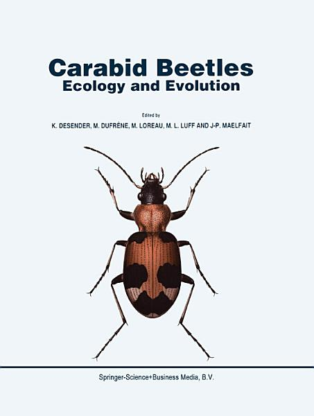 Download Carabid Beetles  Ecology and Evolution Book