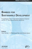 Bamboo for Sustainable Development