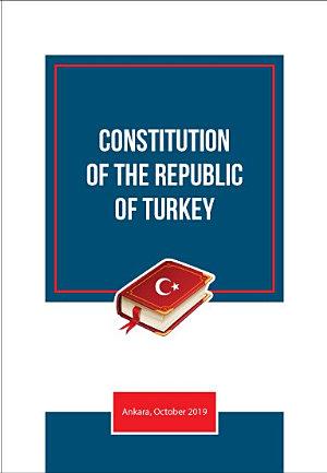 CONSTITUTON OF THE REPUBLIC OF TURKEY