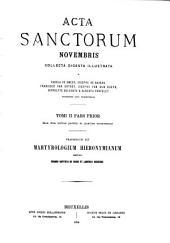 Acta sanctorum: Volume 2