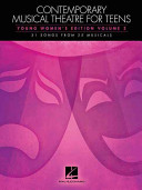 Contemporary Musical Theatre for Teens, Young Women's Edition, Volume 2