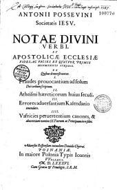 Nota divini verbi