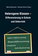 Heterogene Klassen   Differenzierung in Schule und Unterricht PDF