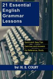 21 Essential English Grammar Lessons