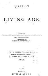 Littell's Living Age: Volume 184