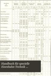 Handbuch für specielle Eisenbahn-Technik ...: Der Locomotivbau