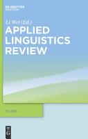 Applied Linguistics Review PDF