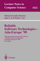 Reliable Software Technologies - Ada-Europe '99