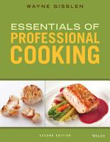 Essentials of Professional Cooking PDF