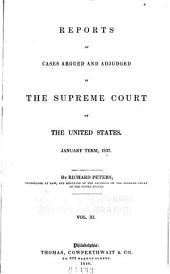 United States Reports: Cases Adjudged in the Supreme Court, Volume 36
